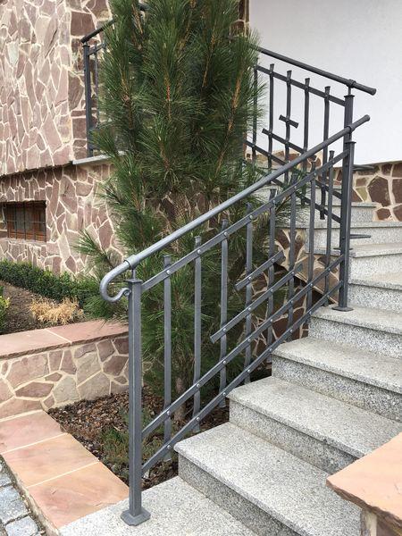 Kované Zábradlí Na Schodiště I Balkon Kovářství Mittnercz
